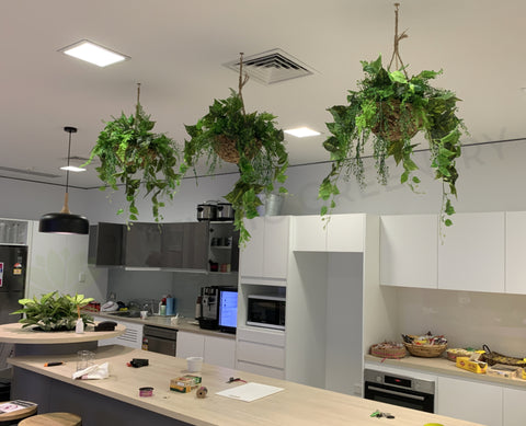 Insight Enterprise - Mixed Artificial Plants for Hanging Baskets & Built-in Planters | ARTISTIC GREENERY