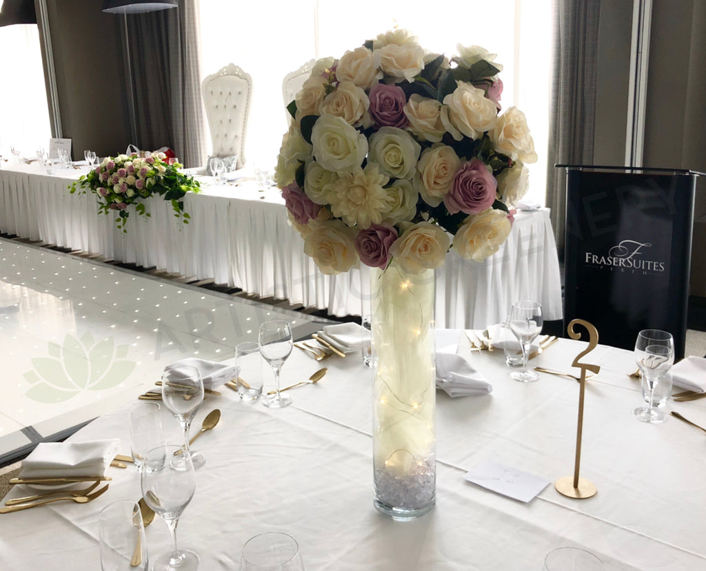 Tailor-made Wedding Decorations for Guests & Bridal Tables Perth ...