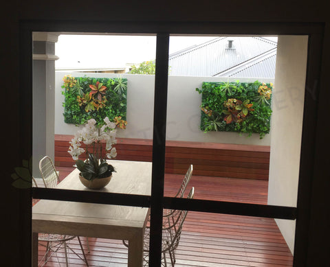 Greenery Wall Art / Vertical Garden Panel for Retirement Village Display Home