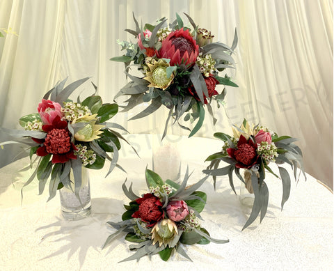 Round / Natural Bouquet - Mixed Native Flowers - Jessica C