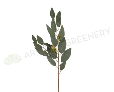 LEA-FI6329GR Eucalyptus Leaf with Seed 80cm Green