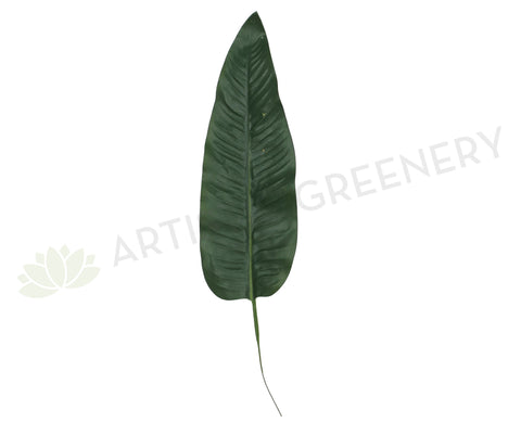 LEA0006 Bird of Paradise Leaf Single Real Touch 54cm