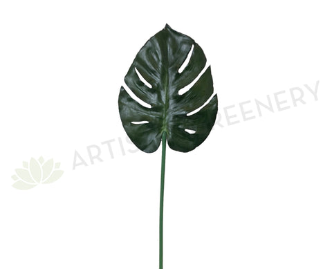 LEA0071 Monstera / Swiss Cheese Plant Single Leaf 72cm CLEARANCE STOCK