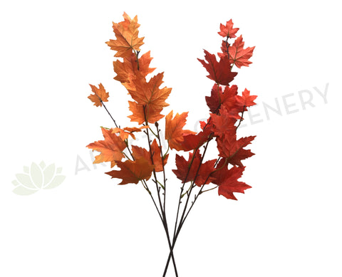 LEA0077 Autumn Maple Foliage 86cm Red / Orange