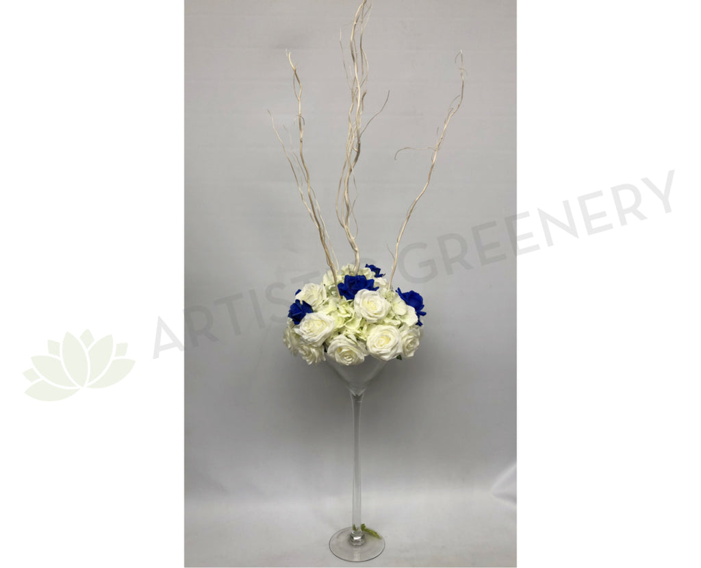 For Hire - Martini Glass Centerpiece for Guest Tables - Mary K ...