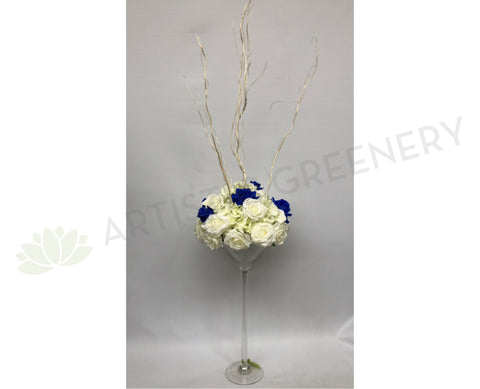For Hire - Martini Glass Centerpiece for Guest Tables - Mary K