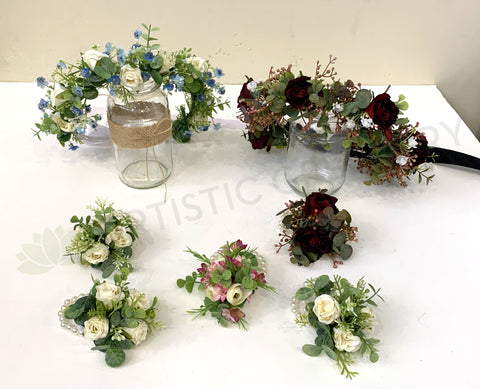 Flower Girl Crowns & Corsages - Michele H (0120)