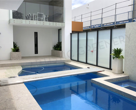 Home Interior Design and Installation - Pool Area & Built-in Planters - North Beach