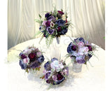 Round Bouquet - Purple - Rachel C