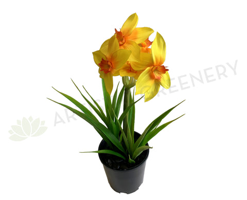 SP-F0300 Artificial Yellow Daffodil Plant 46cm | ARTISTIC GREENERY