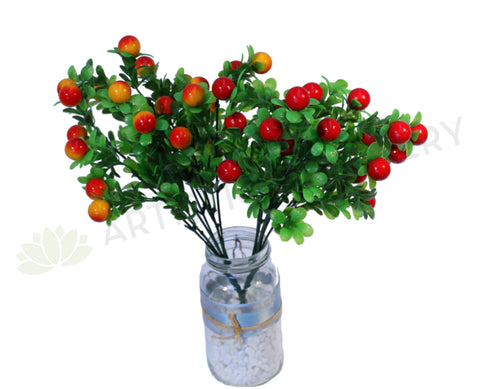 SP0005 Berry Bunch 34cm Orange / Red