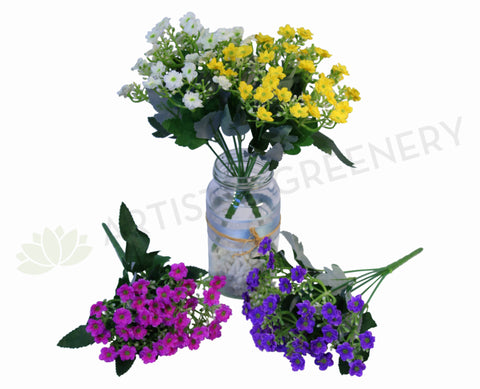 SP0038 Kalanchoe Bunch 29cm 4 Colours