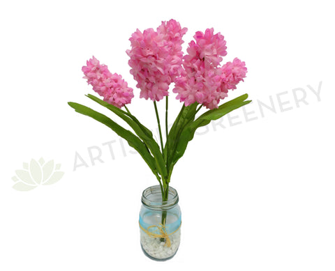 SP0049 Hyacinth Bunch 41cm Pink / Purple / White / Blue