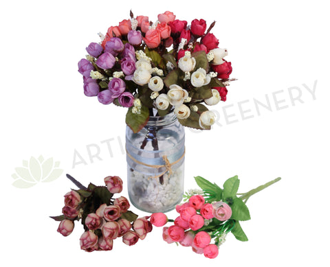 SP0050 Small Spring Flowers Bunch 23cm
