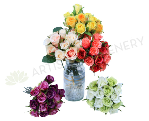 SP0067(b) Rose Bunch 21cm