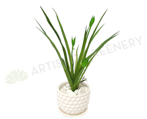 SP0068 Lily Grass 32cm Green