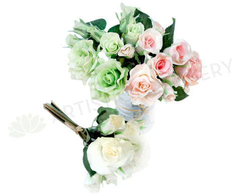 SP0069 Rose Bunch Real Touch 21cm