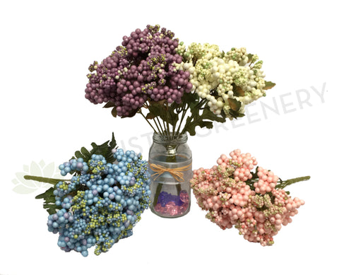SP0094 Small Berries Bunch 32cm 5 Colours