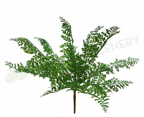 SP0114NEW Fern Leave Bunch 35cm Real Touch