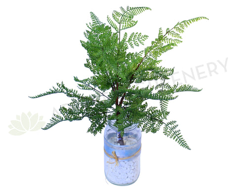 SP0116(b) Fern Leave Bunch Real Touch 40cm