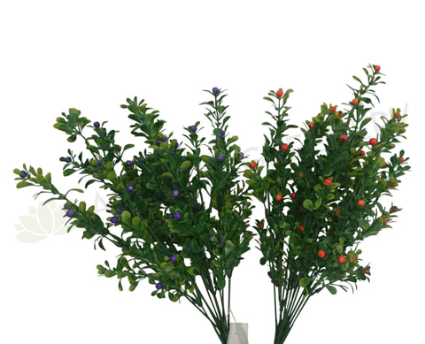 SP0139(2) Mini Berry Bunch 34cm 3 Colours