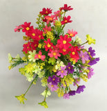 SP0147 Cosmos Bunch 30cm 3 Colours