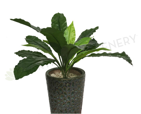 SP0152 Bird's Nest Fern 60cm Real Touch Leaves