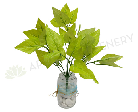 SP0158 Yellow Pothos Bunch Glossy Leaves 30cm