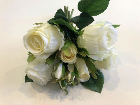 SP0241 Deluxe Rose Bunch 27cm 4 Colours