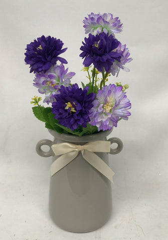 SP0256 Small Chrysanthemum Bunch 36cm 5 Colours