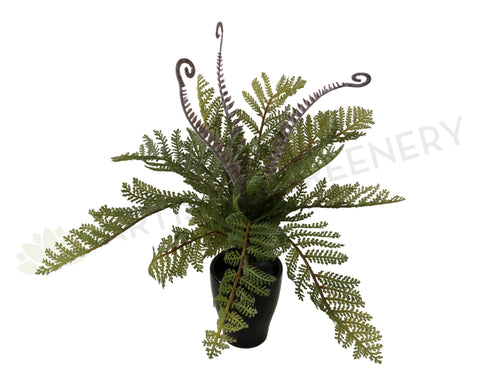 SPRING - SP0259 Fern with Fronds 34cm
