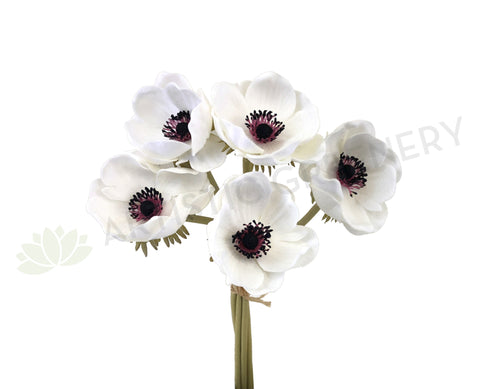 SP0262 Anemone Bunch 32cm White
