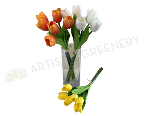 SP0302 Tulip Bouquet 49cm 3 Colours