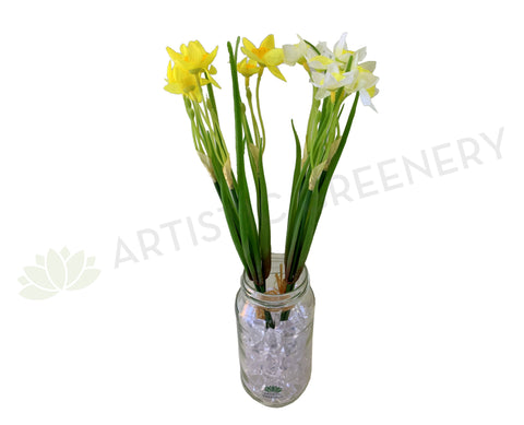 SP0322 Daffodil Bunch 31cm 2 styles (SPECIAL)