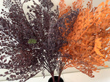 SP0325 Faux Maidenhair Fern Leave Bunch 50cm Brown / Red /  Orange | ARTISTIC GREENERY