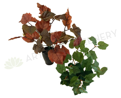 SP0329 Artificial Grape Vine Bunch 32cm 2 Styles Orange / Green | ARTISTIC GREENERY