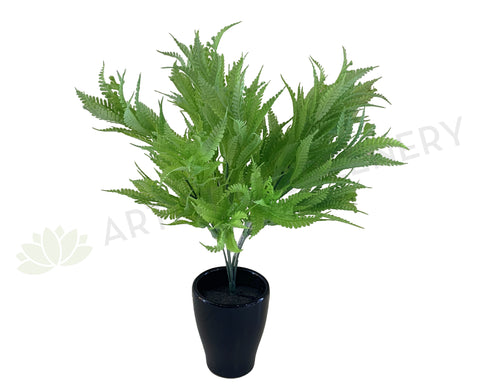 SP0360 Artificial Silver Fern Bunch 34cm Real Touch Quality | ARTISTIC GREENERY