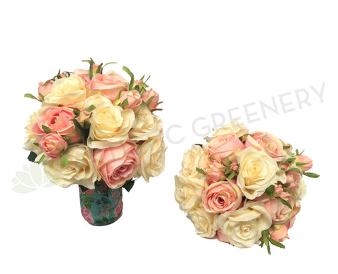 Round Bouquet - Pastel Colour - Roshan