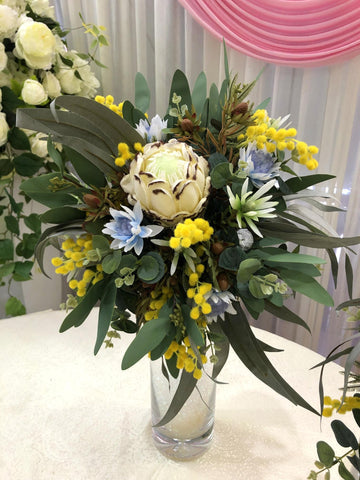 Round / Natural Bouquet - Mixed Native Flowers - Sarah W