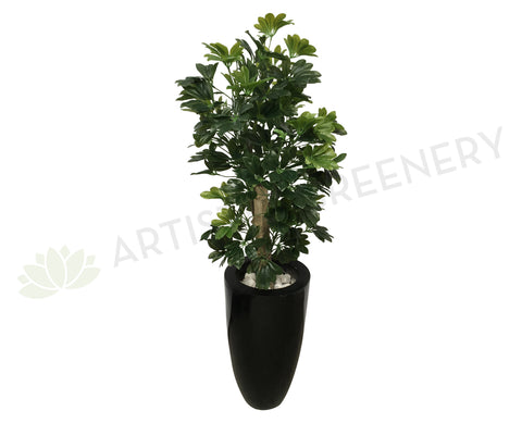 T0014 Schefflera / Dwarf Umbrella Tree 100cm Real Touch