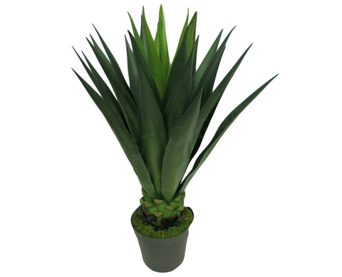 T0033 Giant Agave Potted 100cm Real Touch