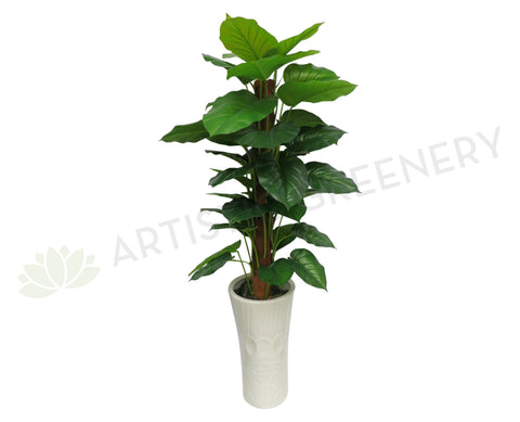 T0041 Pothos Totem Real Touch Leaves 101cm