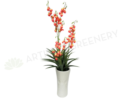 T0057PEA Spanish Dagger with Peach Colour Flowers
