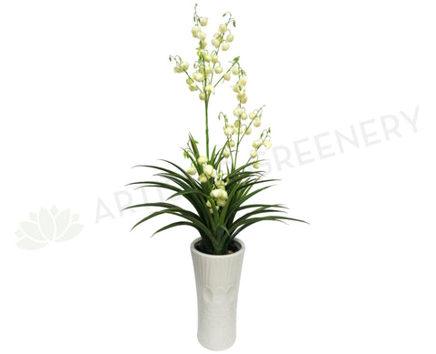 T0057WHI Spanish Dagger with White Flowers 147cm