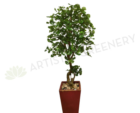 T0078 Ginkgo Tree Real Touch Leaves 175cm