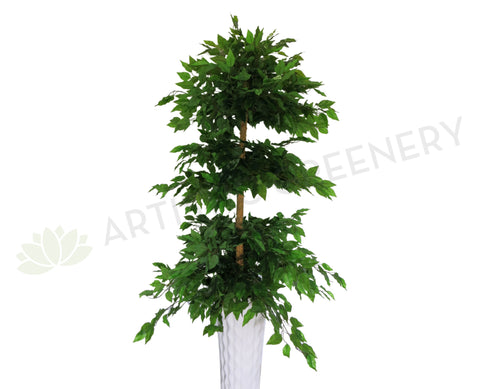 T0083 Ficus 3-Tiers (Real Wood Trunk & Real Touch Leaves) 180cm