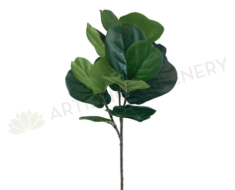 T0141 Fiddle Leaf Fig Branch 103cm Green