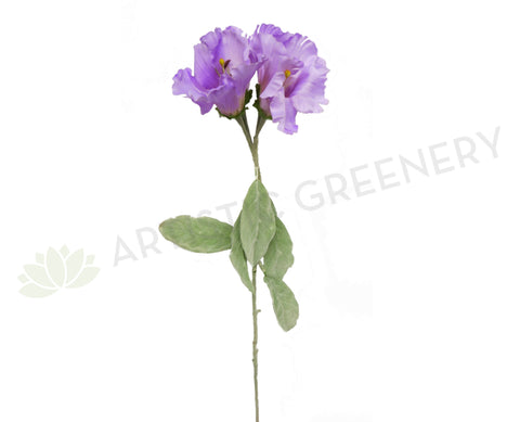 Clearance Stock - Purple Flower 105cm
