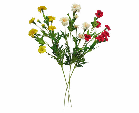 Clearance Stock - Small Carnation 80cm 3 Colours