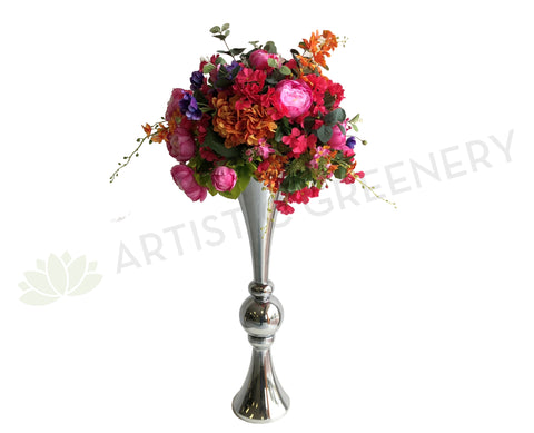 For Hire - Colourful Wedding Centrepiece 90cm Height